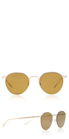 Ultra Flat Gold Sunglasses
