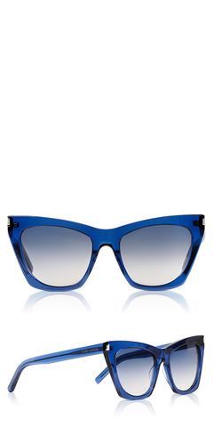 SL 214 Kate Blue Sunglasses