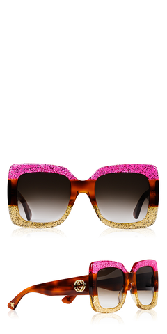 Urban Web Block Pink Sunglasses