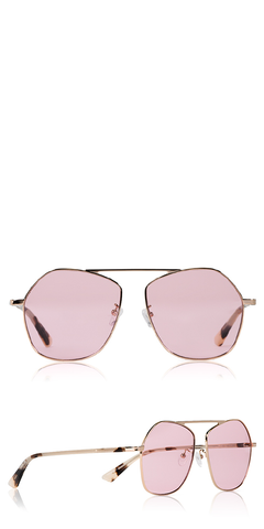 Gravity Bar Pink Sunglasses