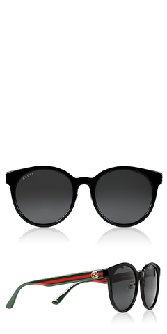 GG Soft Round Cat Eye Sunglasses