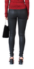 Coated High Waist Skinny Jean