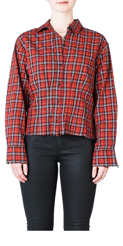 The Tella Shirt Tartan Plaid