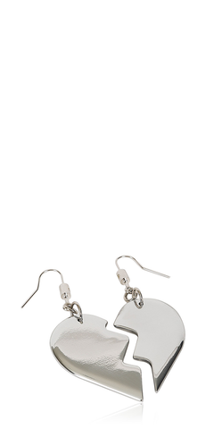 Friendship Heart Earrings