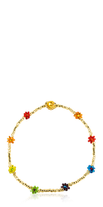 Chaquira Gold Anklet