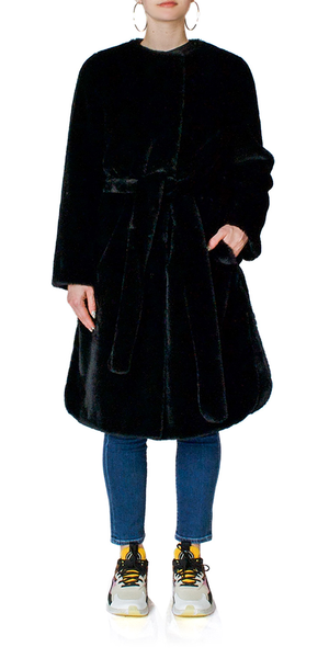 Adina Faux Fur Coat