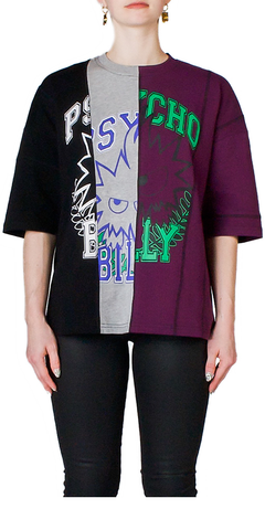 Cut-Up Graphic T-Shirt