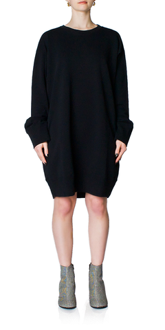 Cutout Sweatshirt Dress