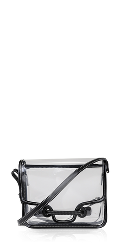 City Vinyl Crossbody Bag