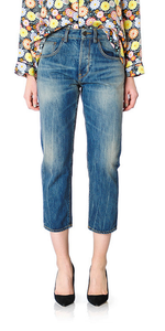 Shorty Jeans in Rugged Wash