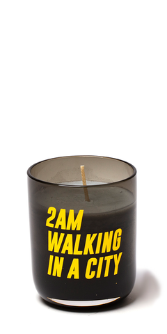 2AM Walking in a City Candle