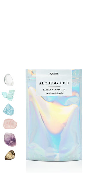 Alchemy of U Crystal Facial Chakra Grid