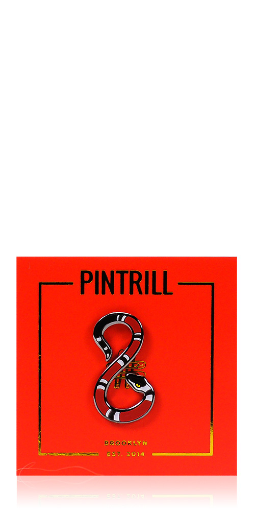 Pintrill Year Of The Snake Pin Maison Rogue