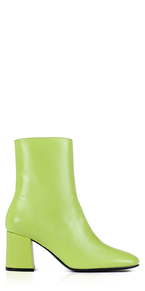 Calley Pistachio Leather Boots