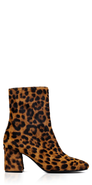 Calley Leopard Print Boots