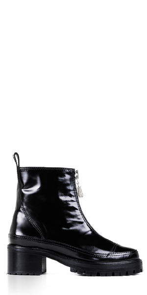 Chris Black Leather Boots