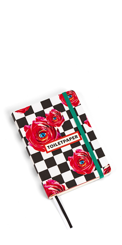 Roses Notebook Medium