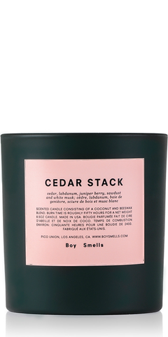 Holiday Cedar Stack Candle Limited Edition