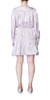 Alessandra Dress Metallic Orchid