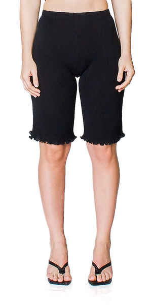 Seamless Pleated Shorts