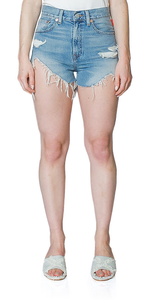 Nic High Rise Cutoff Shorts