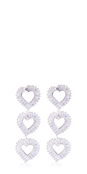 Just A Phase Heart Drop Earrings