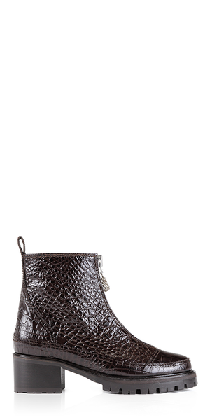 Chris Brown Croc Leather Boots