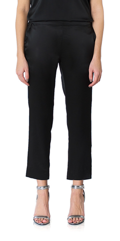 Silk Charmeuse Trousers
