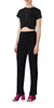 Cotton Seamless Pleated Pants