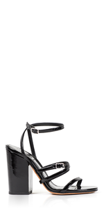 Strappy Ankle Wrap Sandals
