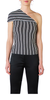 Mensa Stripe Rib Knit Top