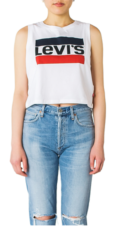 65205c03f1289a Graphic Crop Tank