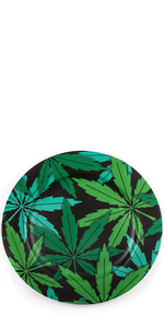 Porcelain Weed Plate
