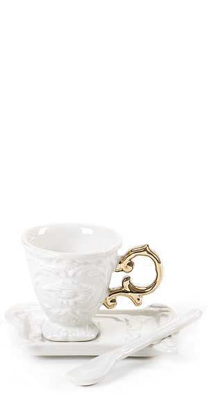 I-Wares Gold Coffee Set