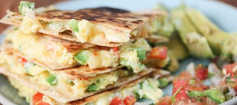 Low Carb, High Protein GET FIT Quesadilla