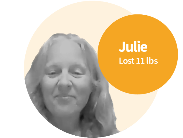 Julie increased her energy and reversed digestive issues.