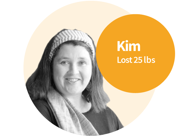 Kim's restricted diet made it hard for her to lose weight and feel healthy.