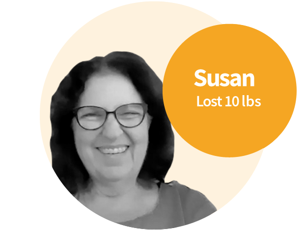 Susan was overweight her entire life and defeated by her slow weight loss.