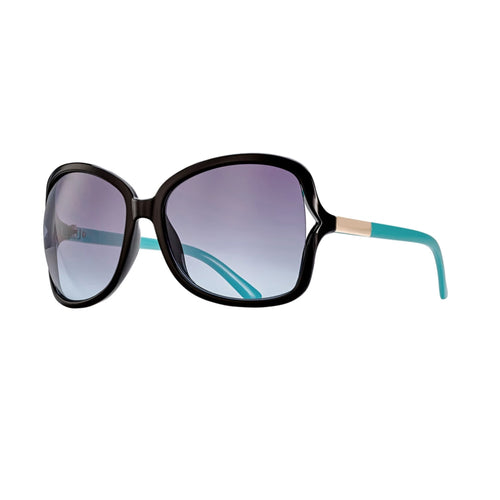 ANNE SUNGLASSES (Black Onyx / Tortoise / Gradient Smoke Polarized)