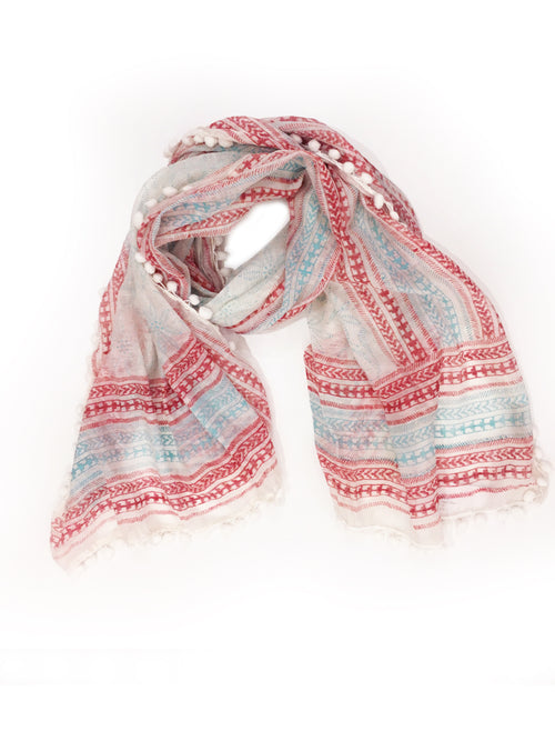 BELLA WRAP (RED/ BLUE)