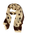 STAR WRAP (BEIGE/ BROWN)