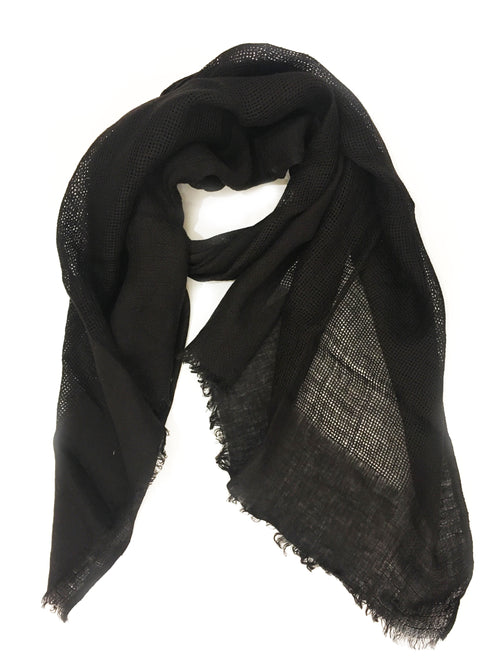 CRISS CROSS WRAP (BLACK)