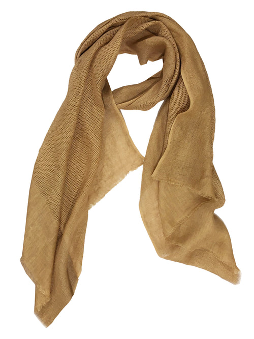 CRISS CROSS WRAP (CAMEL)