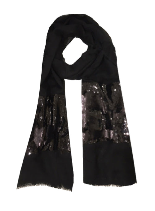 EMELIE BLOCK WRAP (BLACK)