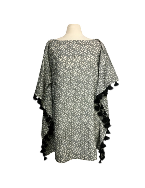 FILS COUPE KAFTAN (GREY/ CREAM)
