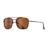 FISHER SUNGLASSES (Matte Bronze / Amber Tortoise / Dark Brown Polarized)