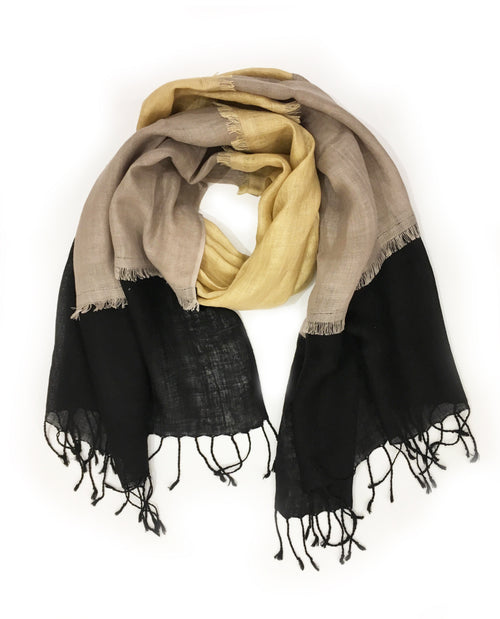 GIGI WRAP (BLACK/ GREY/ BEIGE)