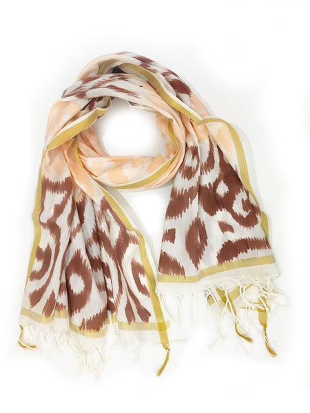 HAND PAINTED IKAT WRAP