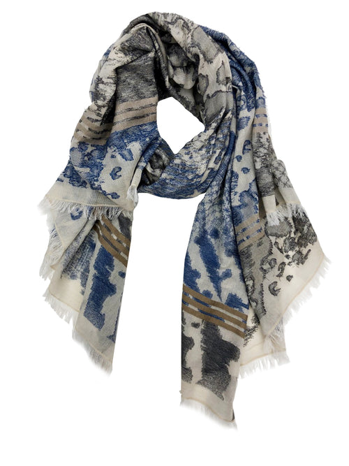 JESSICA WRAP (BEIGE/ BLUE/ GREY)
