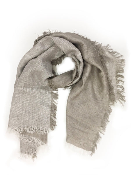 LINEN WRAP (TAUPE)